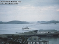 1974, Scillonian II departing St Mary's