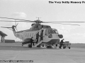 1977, British Airways Sikorsky S-61 GB-CEB St Mary's Airport Scilly, Historical Picture, Photograph