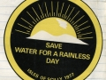 1977, Save Water For A Rainless Day, Scilly, Sticker
