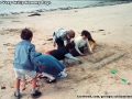 04, 1986, Sandcastle Competition on Town Beach