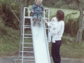 1987, St Mary's Carn Gwarvel School Playground