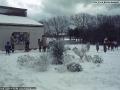 1987, Carn Gwarvel School, St Mary's, Snow