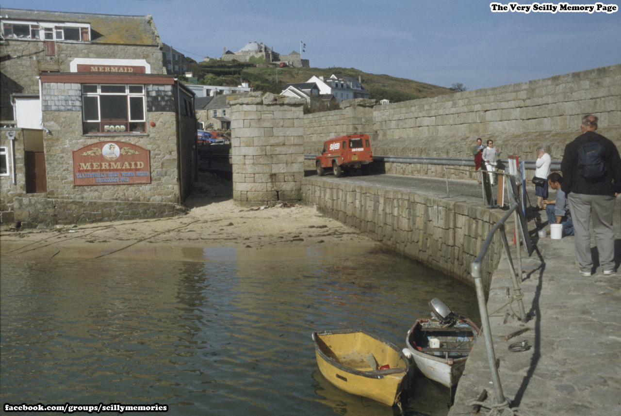 1990s, Mermaid and old Quay
