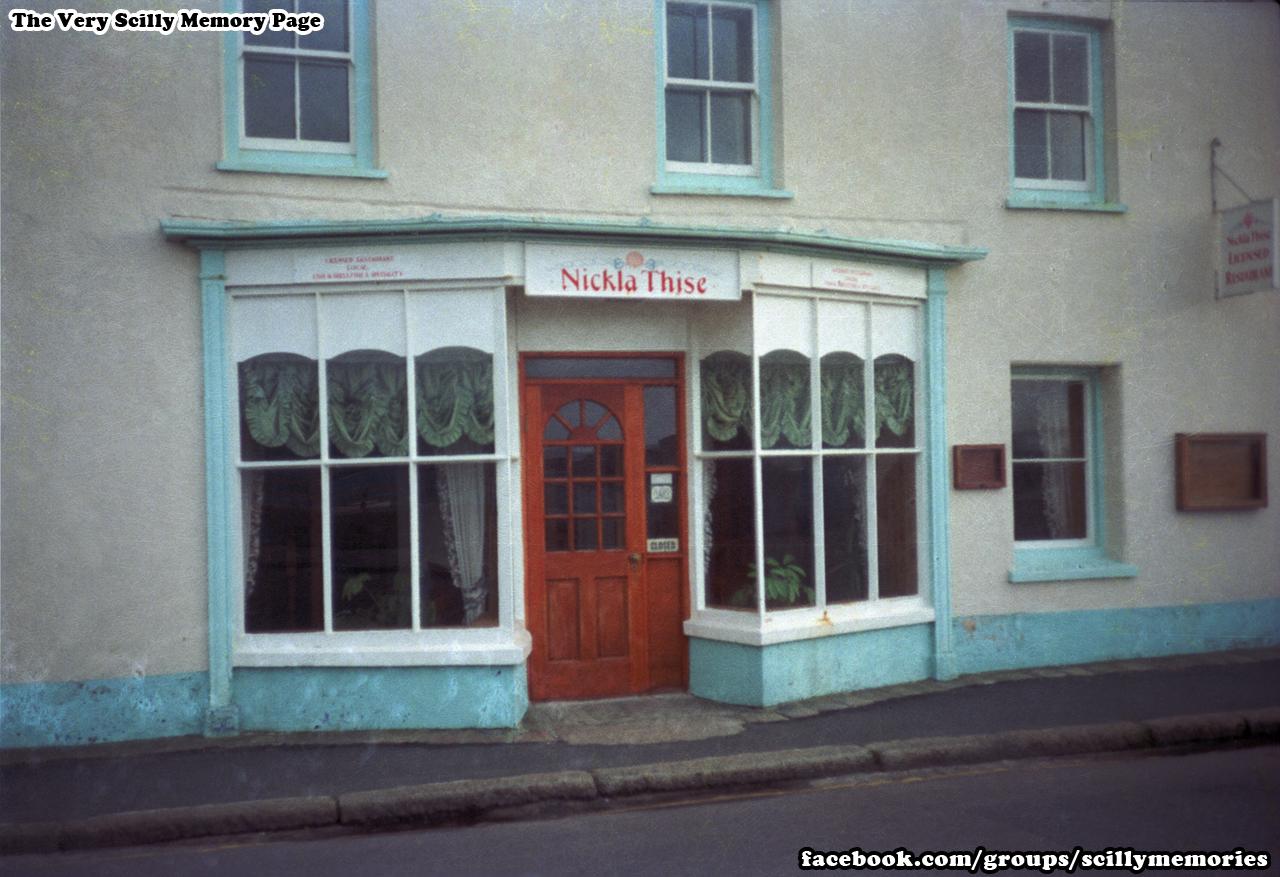 1991, Nickla Thise Restaurant, St Mary's, Strand.