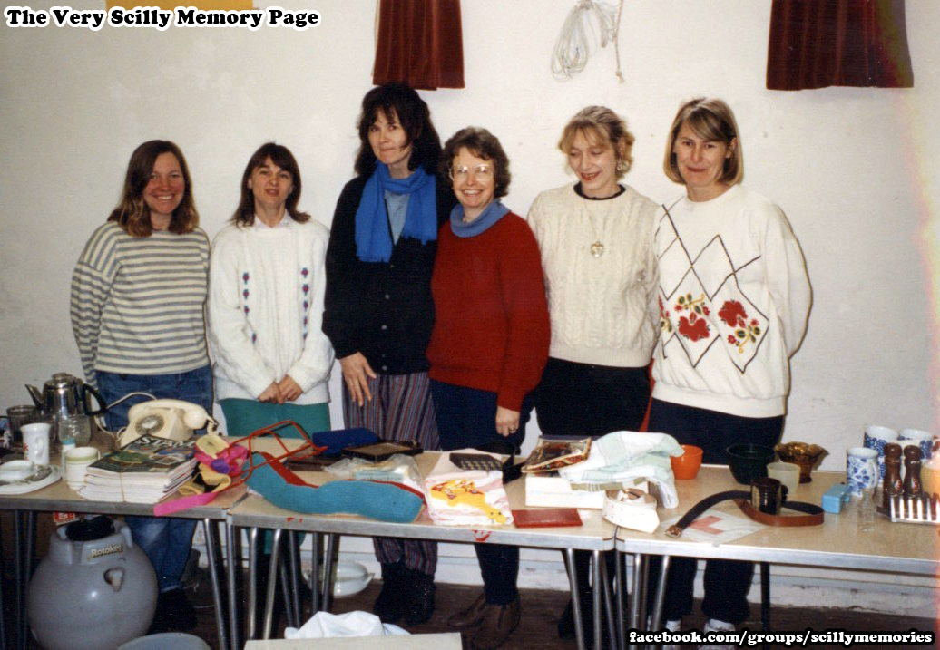 1992, Blue Peter Bring and Buy Sale, Methodist Church, St Mary's.