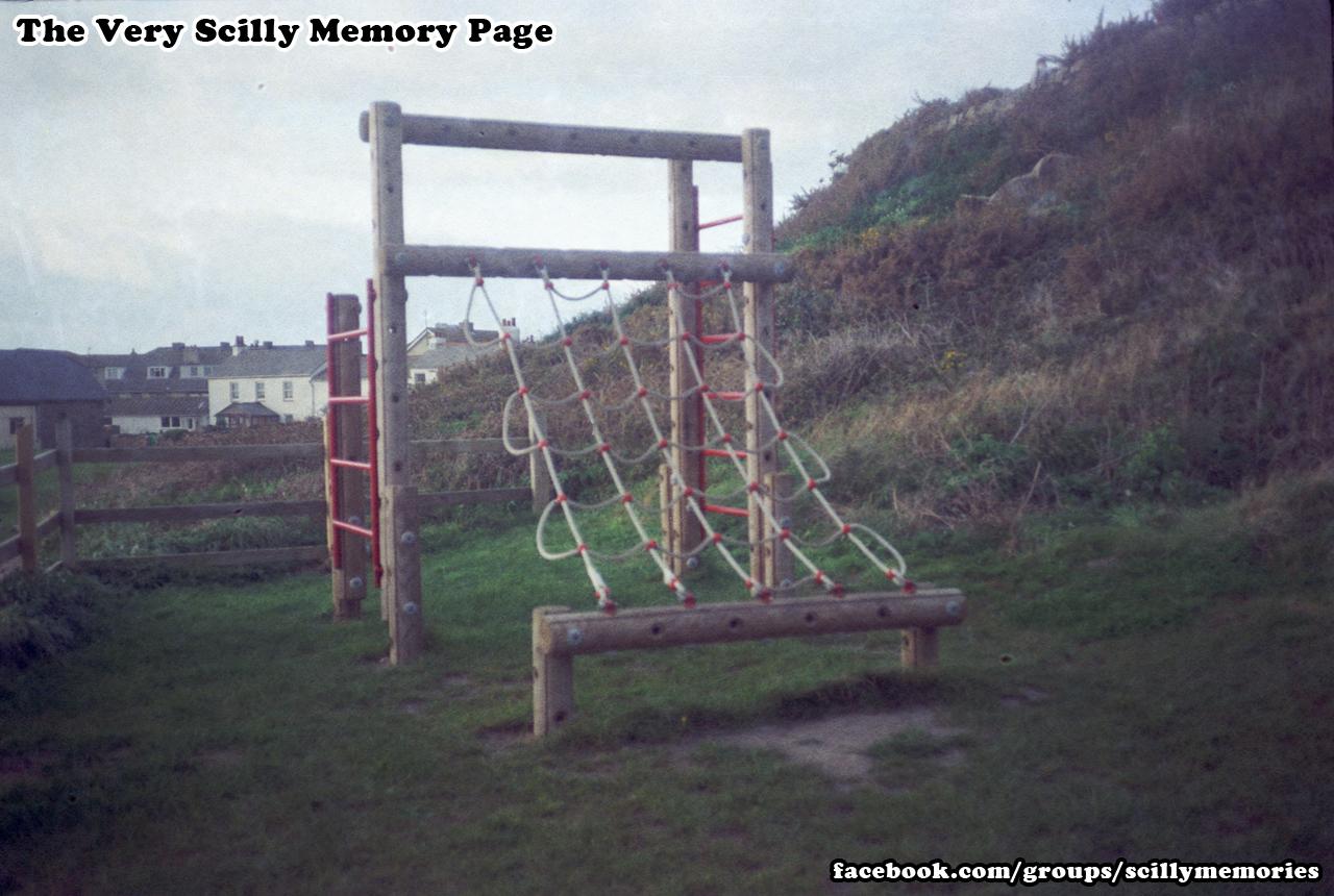 1992, Porthcressa playpark, version one.