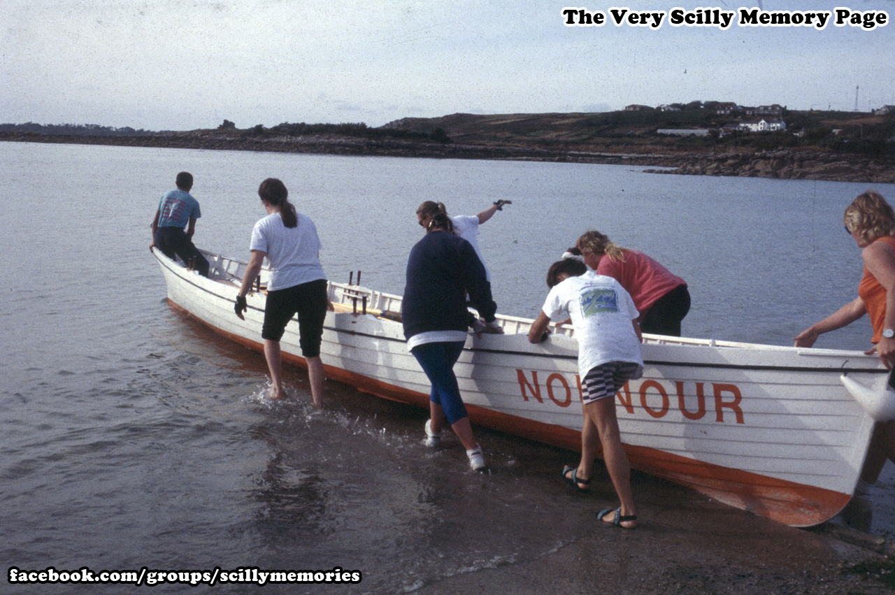 1994, Gig, Nornour, out for a practice