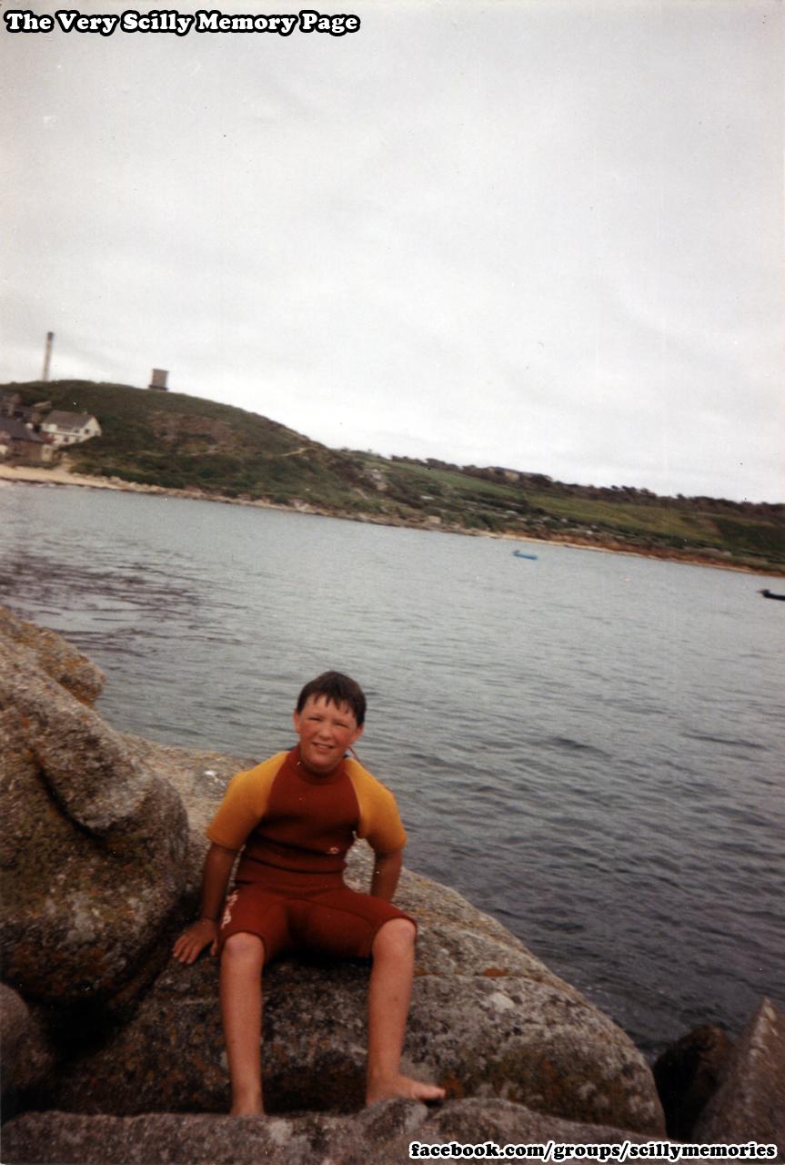 1994, Porthcressa, Llittle Carn, Buzza behind, St Mary's