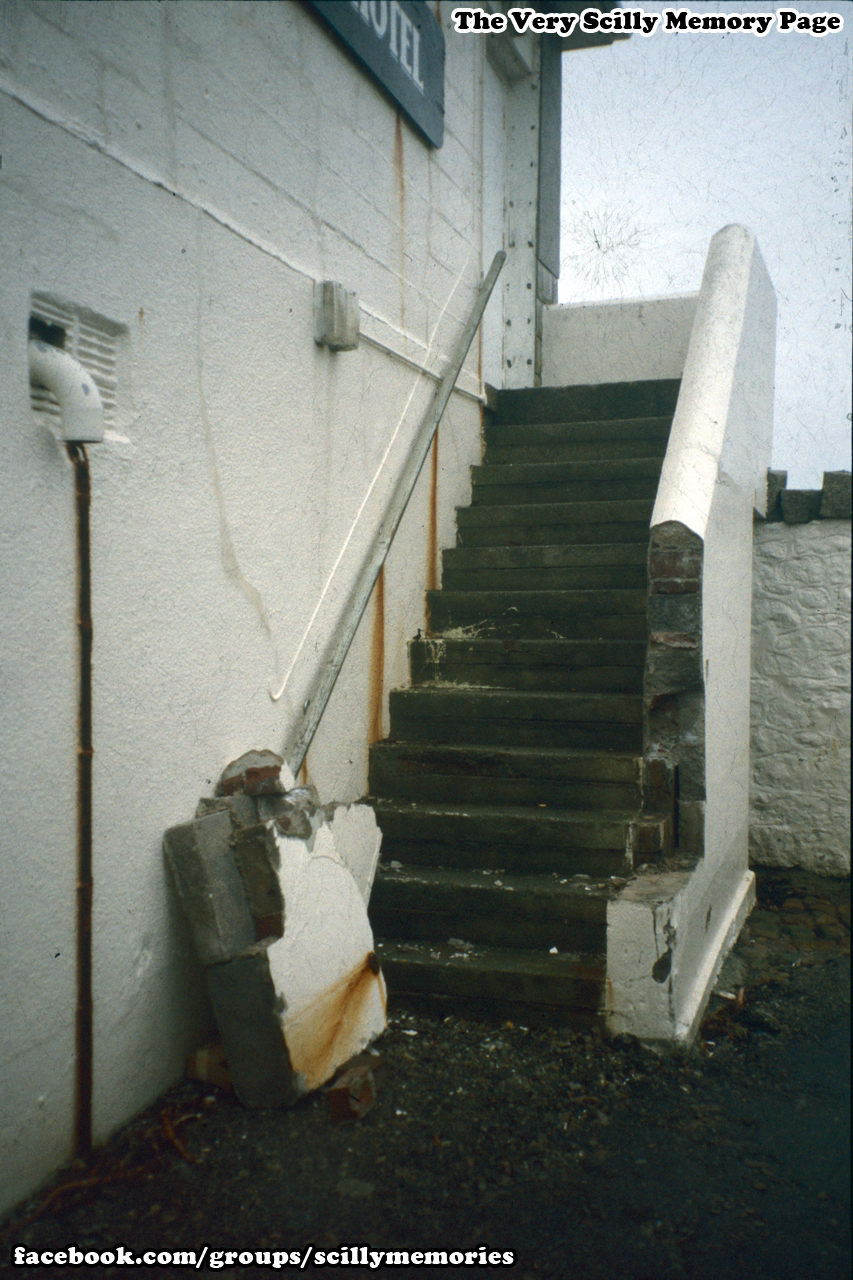 1998, Winter Storm Damage, St Mary's Quay