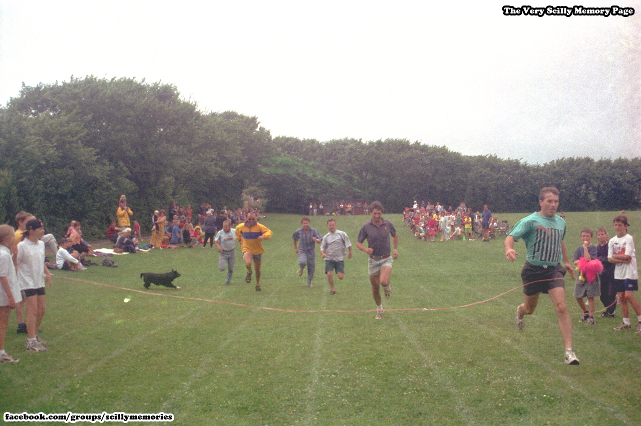 1999, Parents Race at Sports Day, Carn Gwarvel