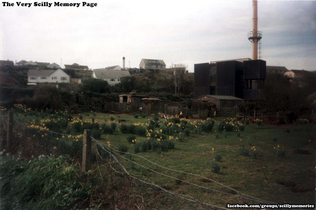 1999, farm by the dump, St Mary's