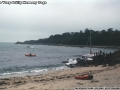 Catamaran (Chamel E II) wreck, Porthcressa, St Mary's, Scilly