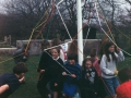 A practice run of the Gypsy's Tent maypole dance.