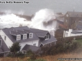 1998, Storms, Waves Battering St Mary's Quay, Taken from Star Castle