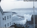 1998, Storms, Waves Battering St Mary's Quay, Taken from Tregarthens Hotel