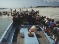 1988, landing on Samson for the picnic