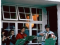1988+, The Steamboat Band, performing by the turks head.